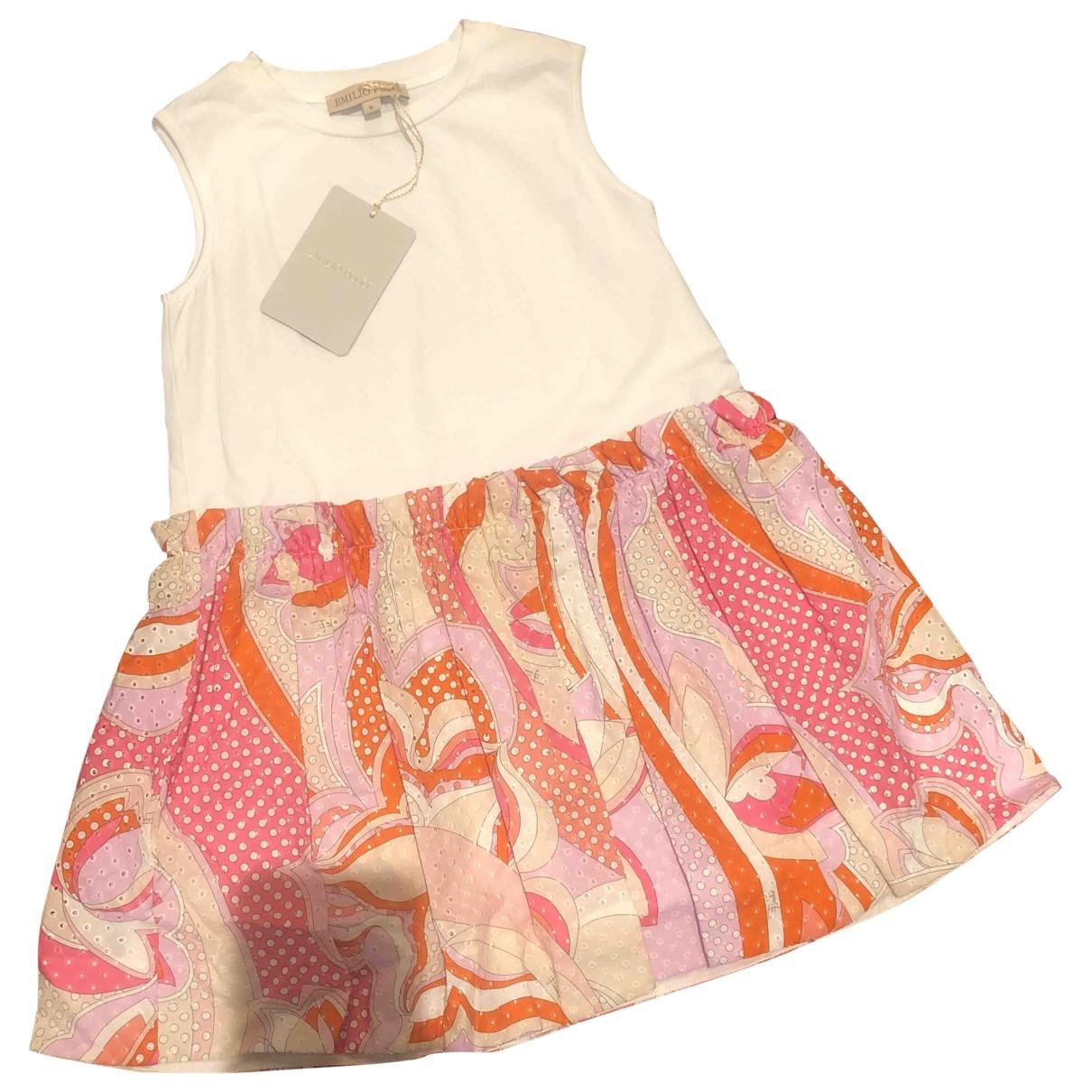 Emilio Pucci - Robe    pour enfant en coton - multicolore