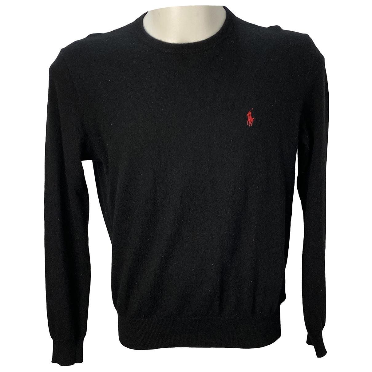 Polo Ralph Lauren \N Black Wool Knitwear & Sweatshirts for Men M International