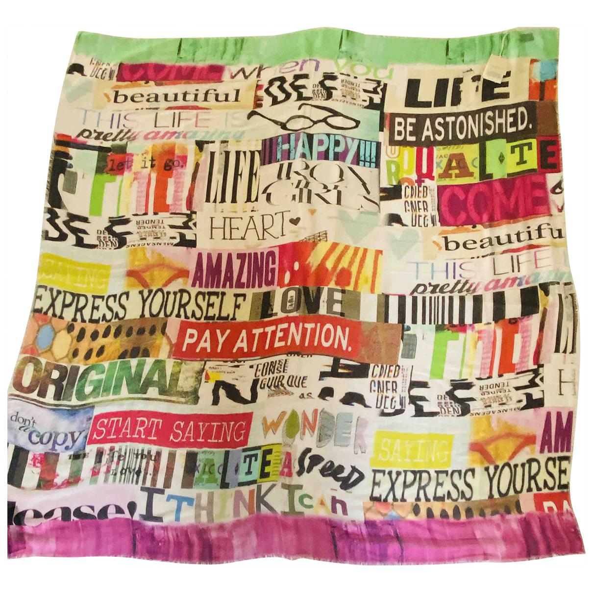 Gucci \N Multicolour scarf for Women \N