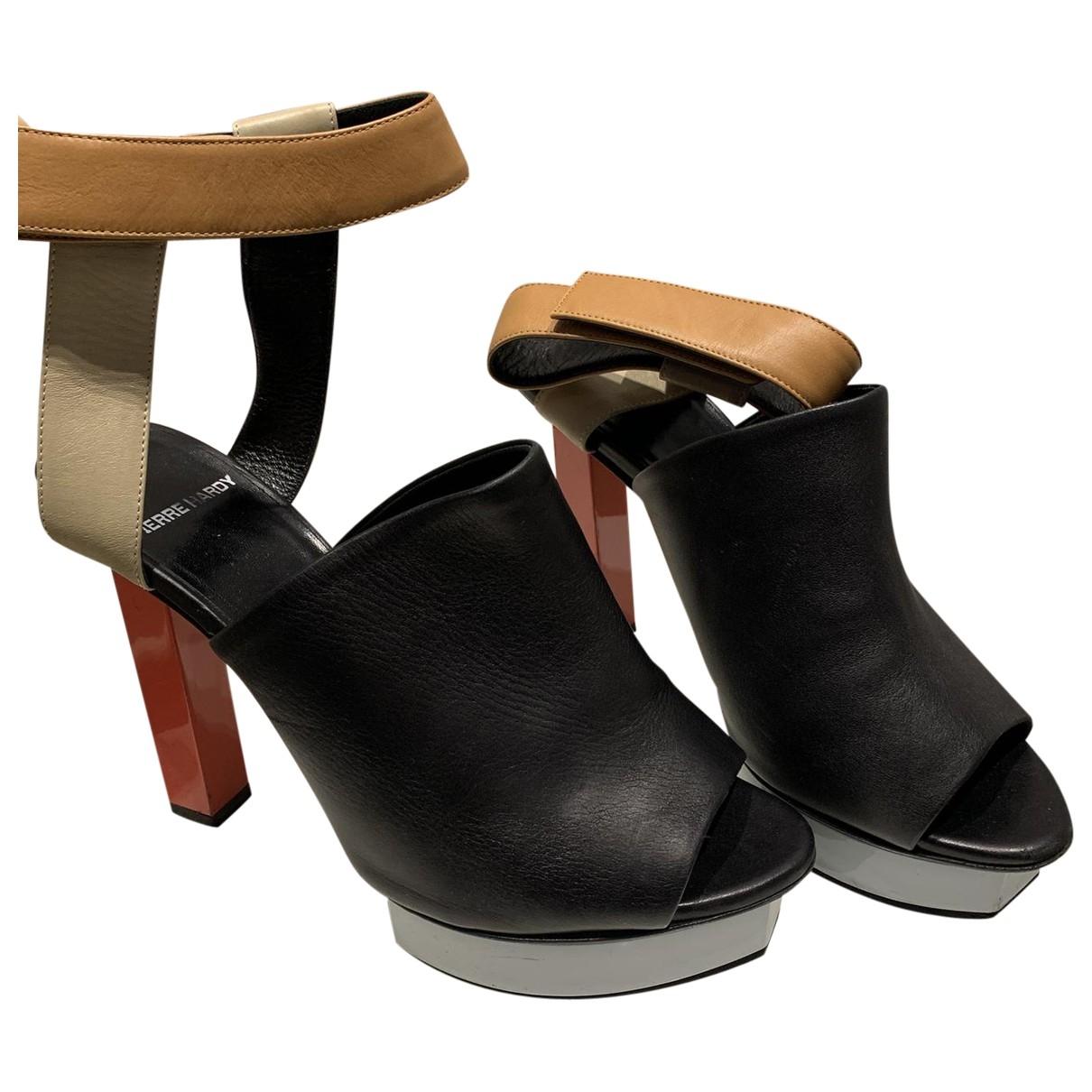 Pierre Hardy \N Blue Leather Sandals for Women 39 EU