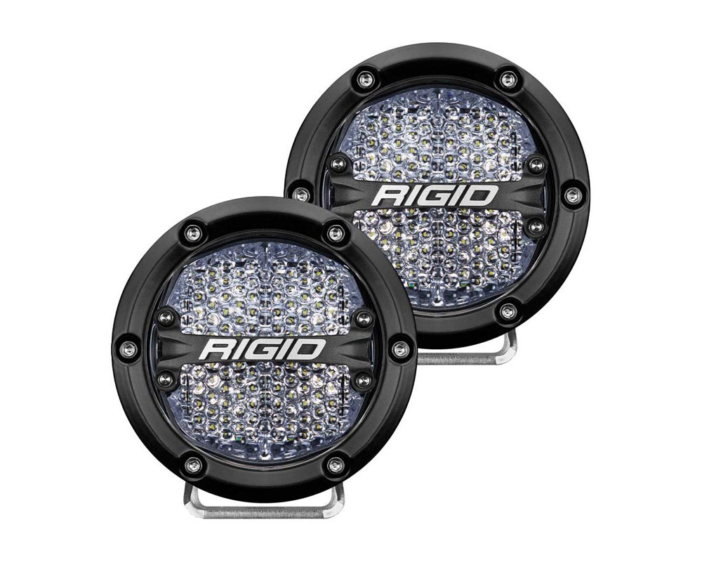 RIGID Industries 360-Series 4 Inch Led Off-Road Diffused White Backlight Pair
