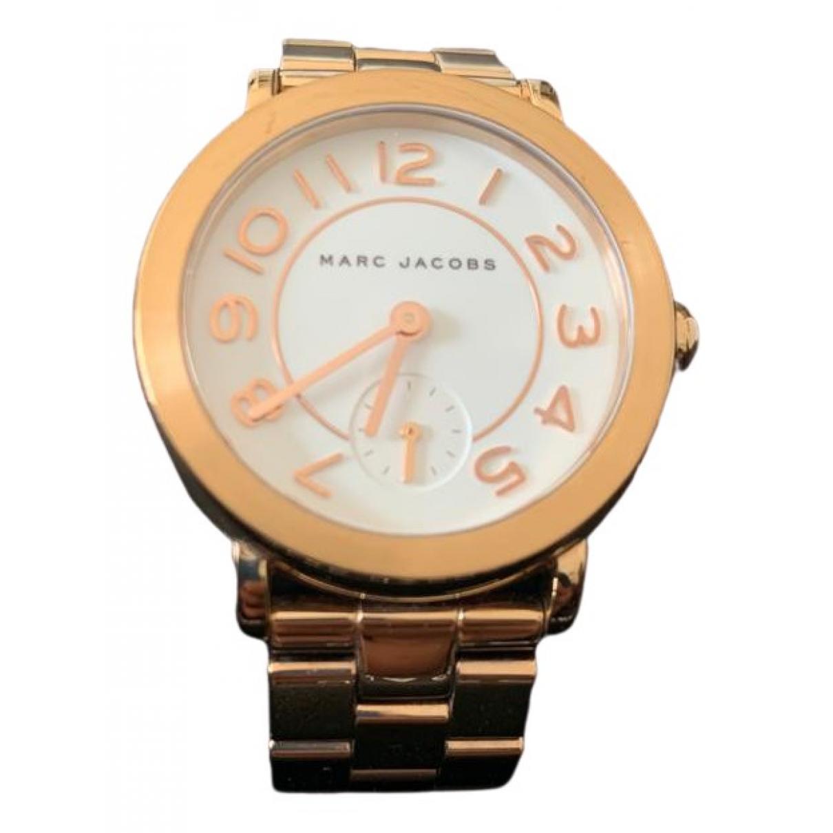Marc Jacobs \N Uhr in  Rosa Stahl