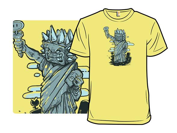 Statue Of Thwomp T Shirt