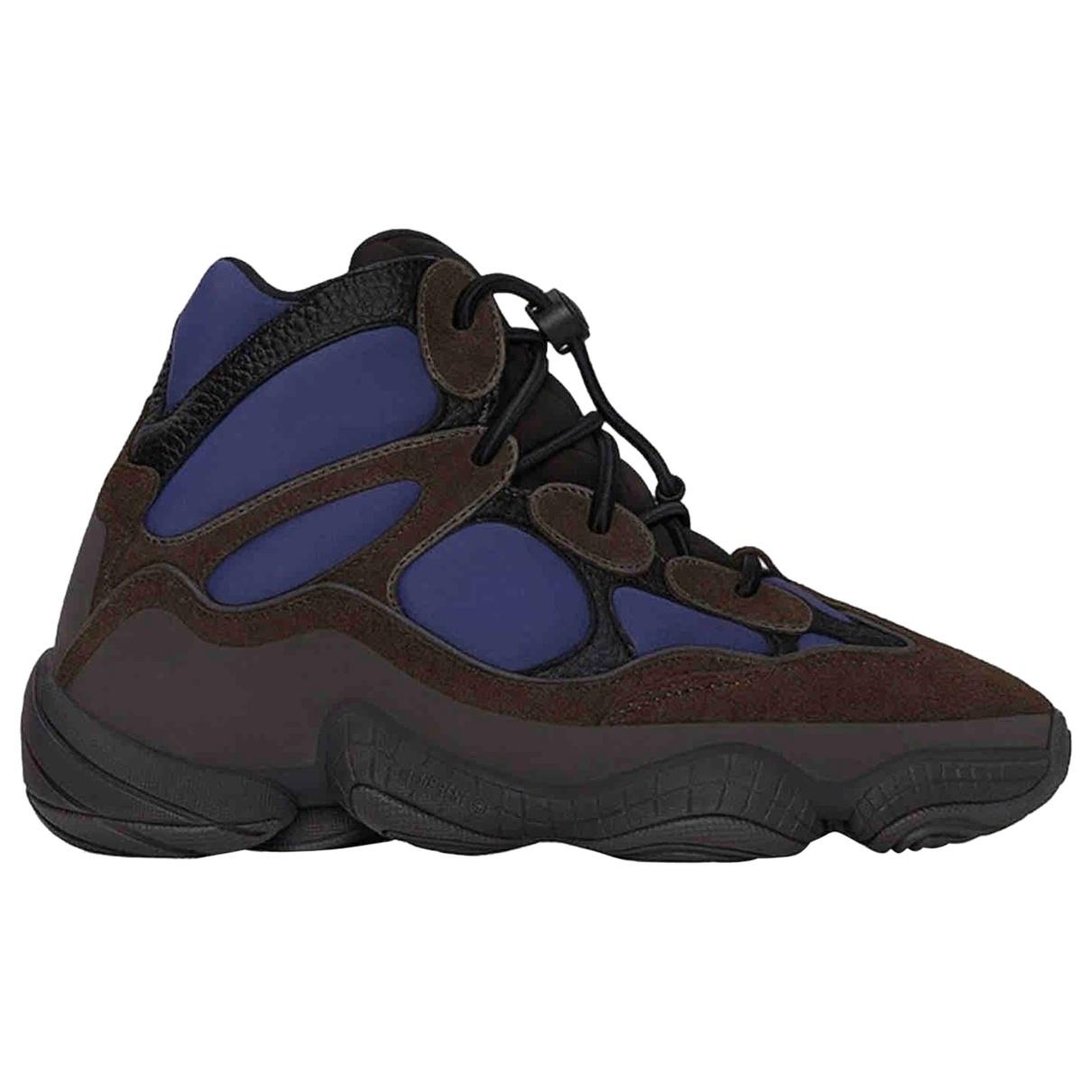 Yeezy X Adidas - Baskets 500 pour homme en cuir - bleu