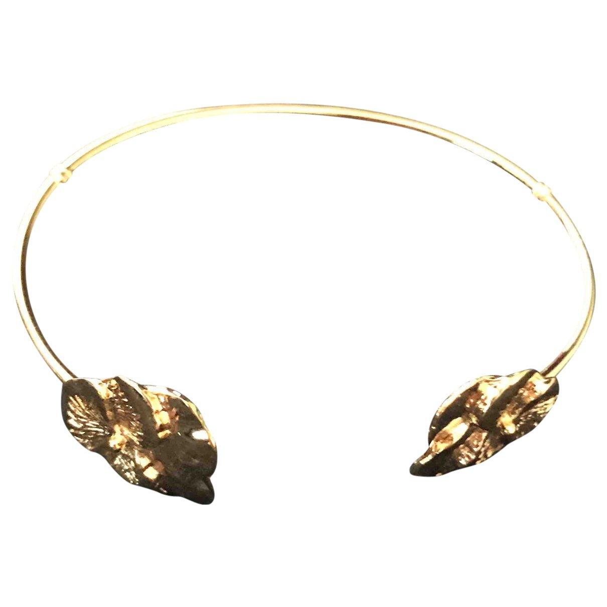 Gas - Bracelet   pour femme en plaque or - dore