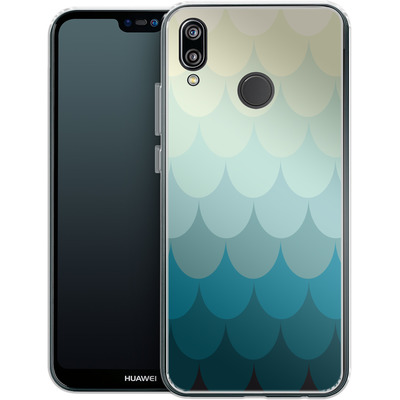 Huawei P20 Lite Silikon Handyhuelle - Scales von caseable Designs
