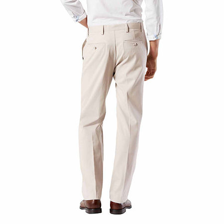 Dockers Big & Tall Classic Fit Easy Khaki Pants - Pleated D3, 58 32, Beige