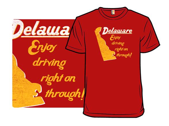 Driving On Through T Shirt