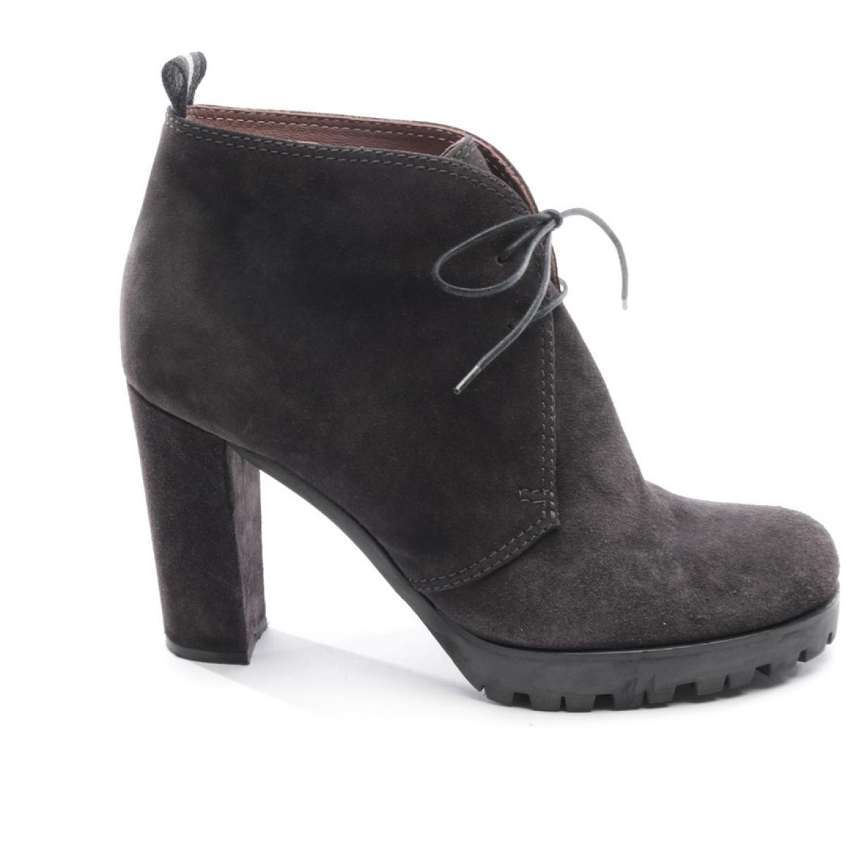 Missoni - Boots   pour femme en suede - gris