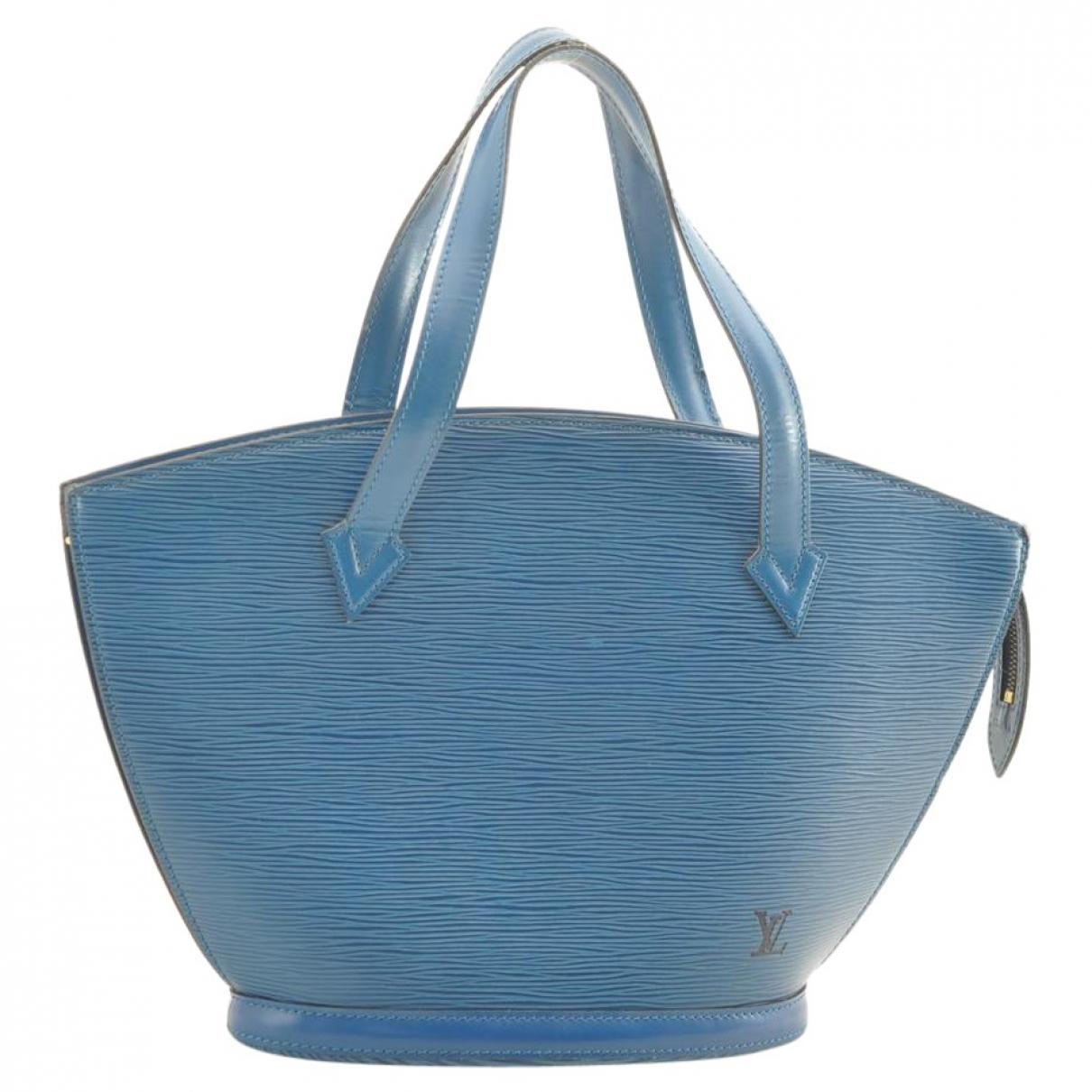 Louis Vuitton Saint Jacques Blue Leather handbag for Women \N