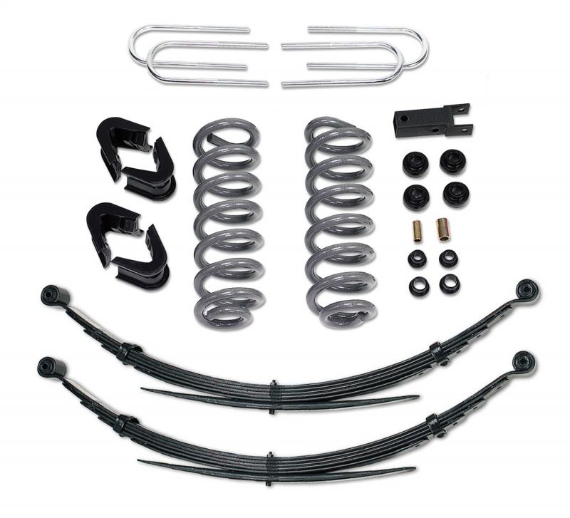 Tuff Country 24716K Complete Kit (w/o Shocks)-4in. Ford Bronco 1978-1979