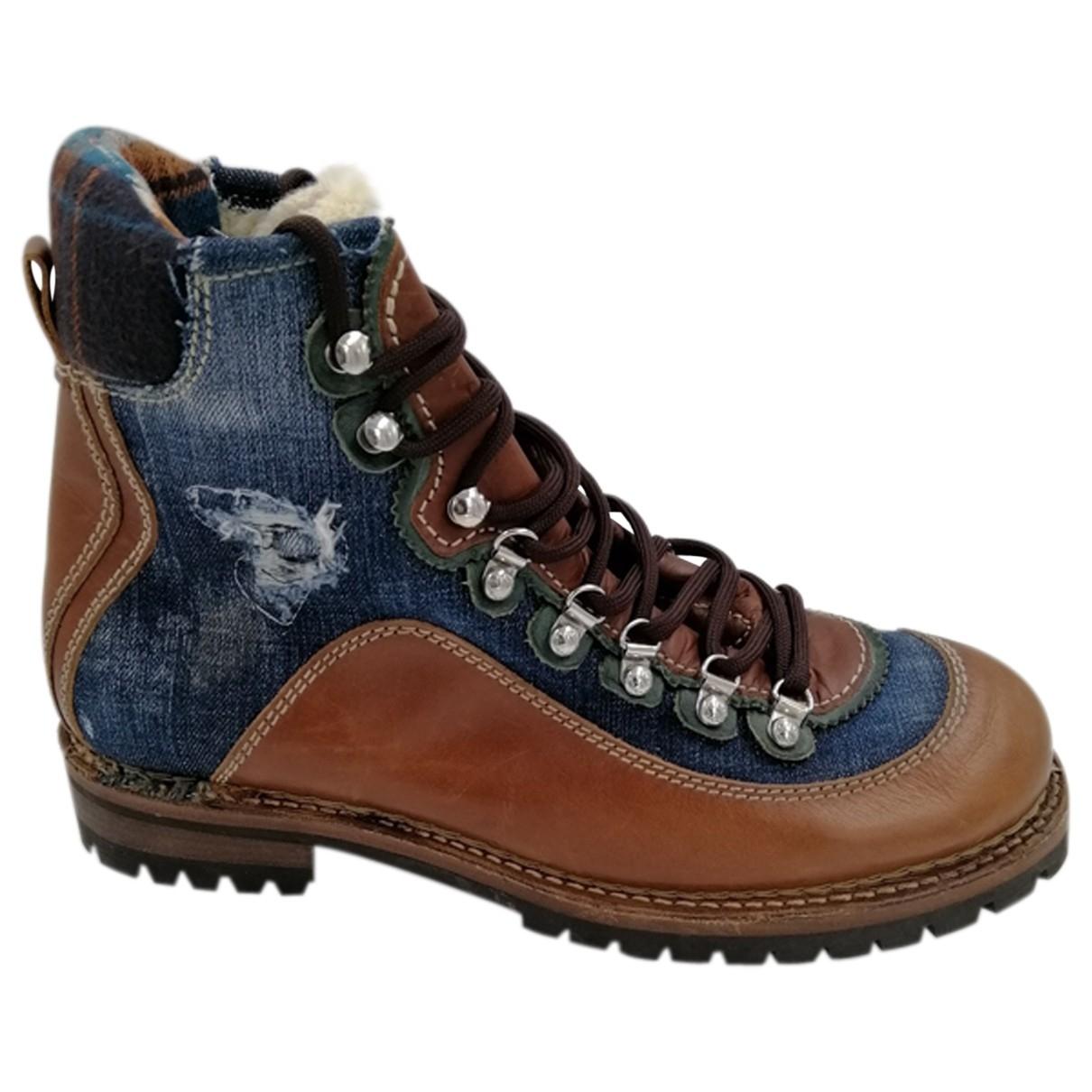 Dsquared2 \N Multicolour Leather Boots for Men 44 EU