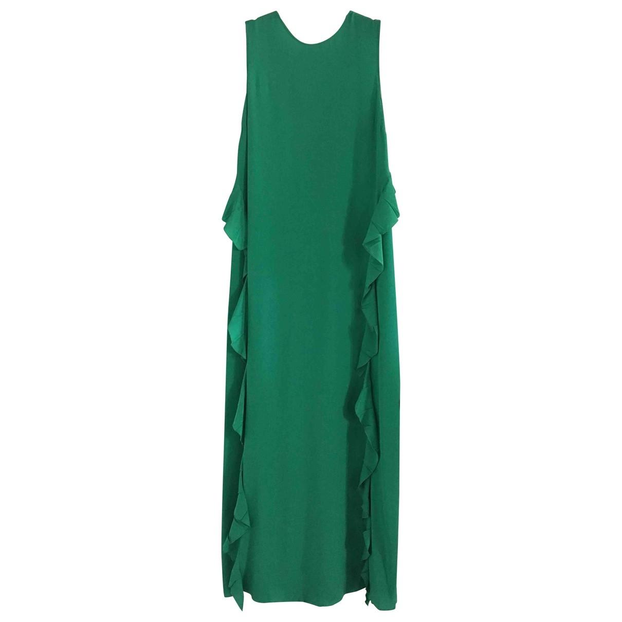 N°21 \N Kleid in  Gruen Seide