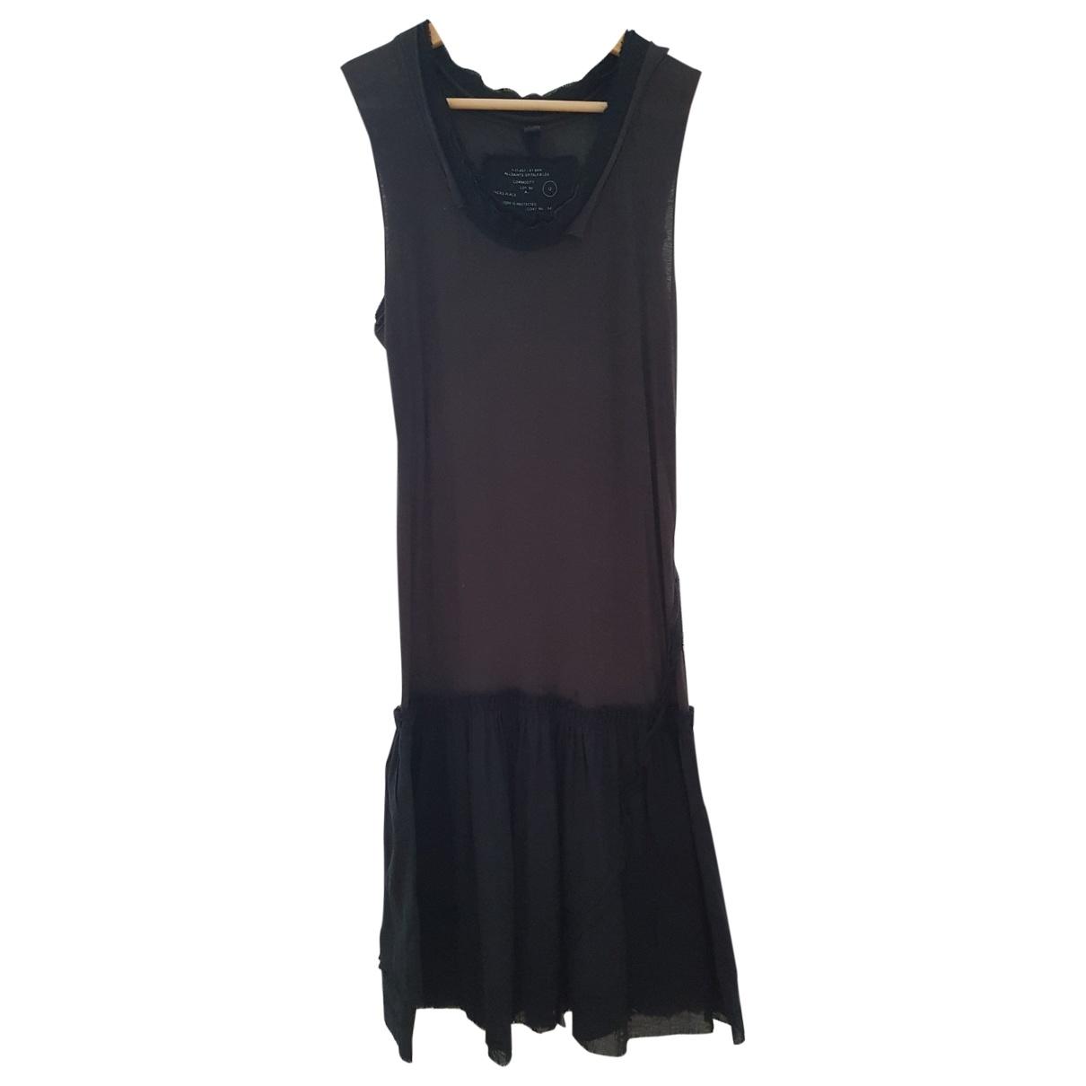 All Saints \N Black Cotton dress for Women 12 UK