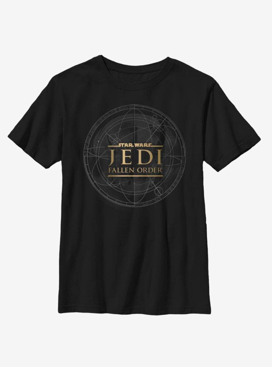 Star Wars Jedi Fallen Order Jedi Map Star Wars Youth T-Shirt