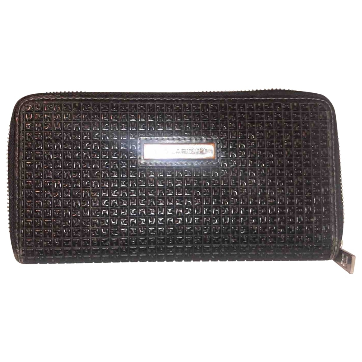 Ted Lapidus \N Black Leather wallet for Women \N