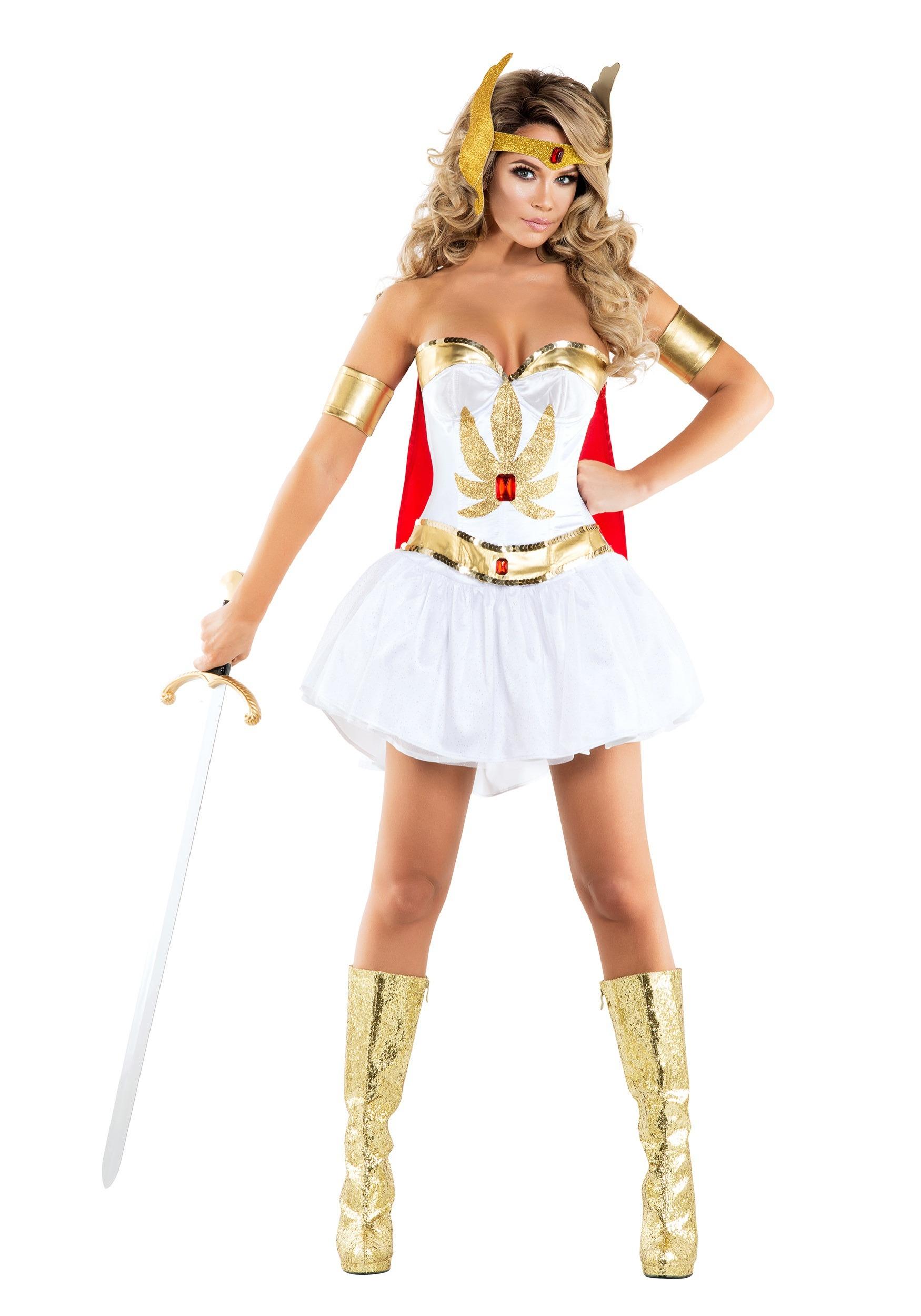 Sexy Powerful Princess Costume