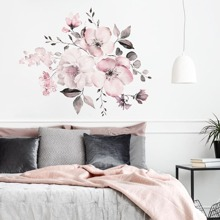 Flower Print Wall Sticker