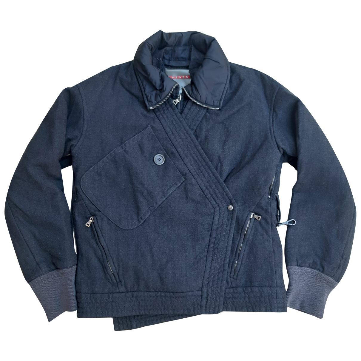 Prada \N Grey Wool jacket for Women 40 IT