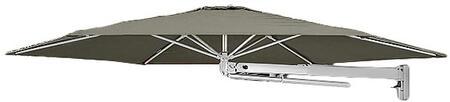 SU3 Series PU27HX3TPE 810/2.7m Hexagonal Umbrella with Wall Mounted Fixing in
