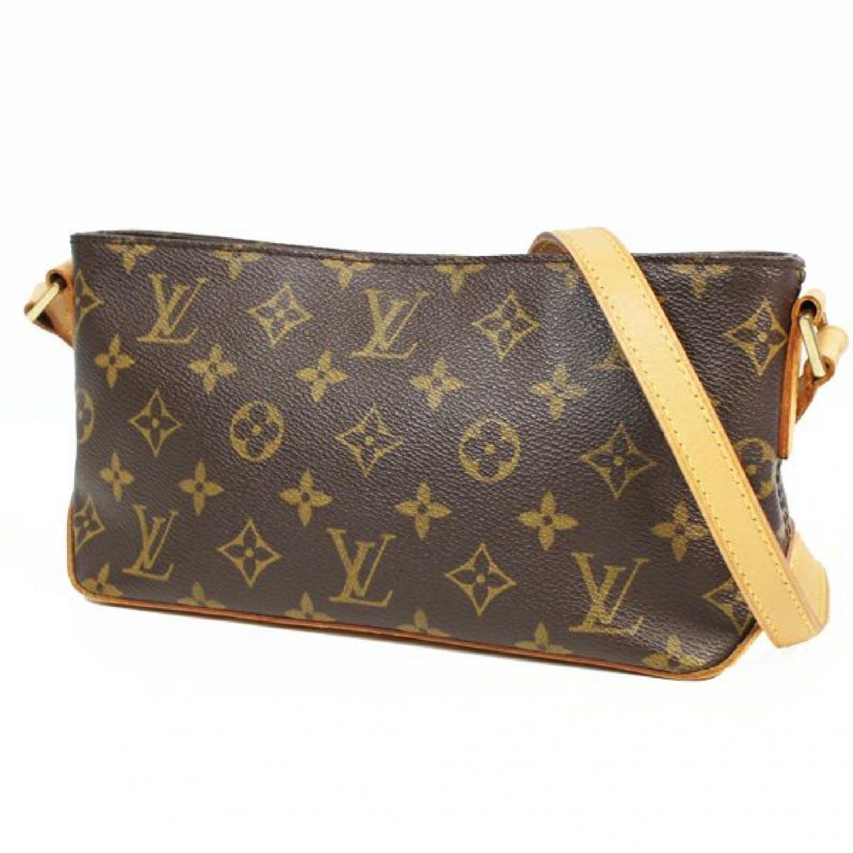 Louis Vuitton \N Black Cloth handbag for Women \N