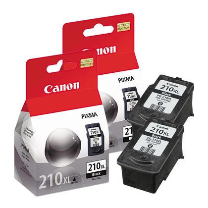 Canon PIXMA MP280 cartouche d'encre noire originale de haut rendement, paquet double