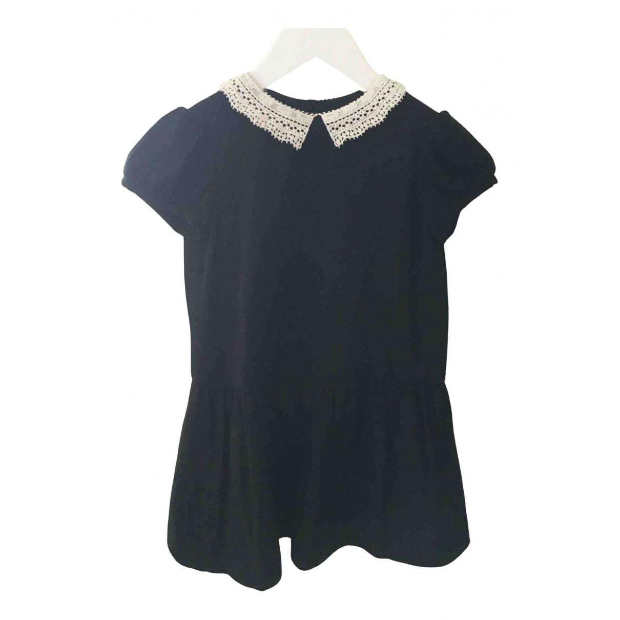 Bonpoint \N Kleid in  Schwarz Wolle