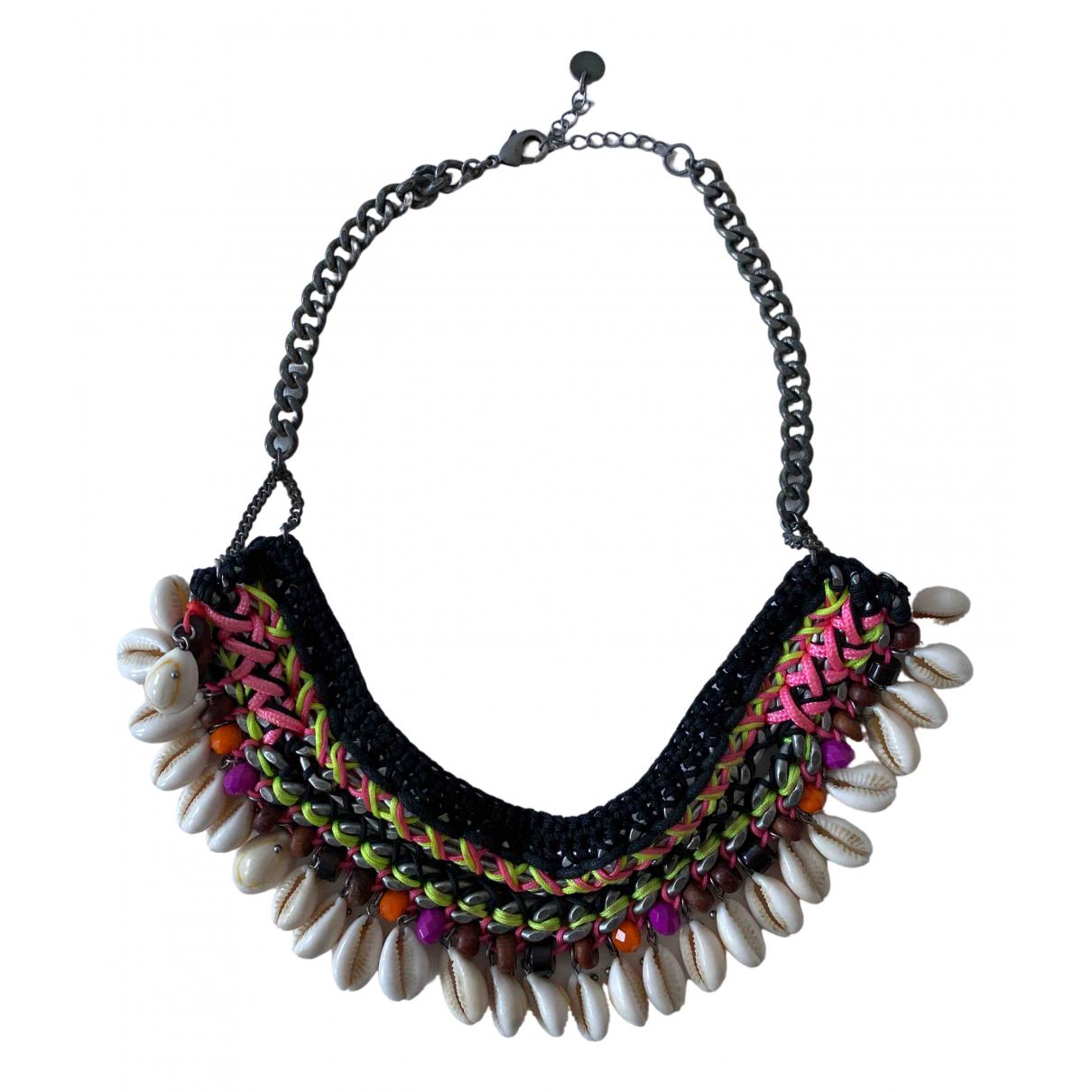 Maje - Collier   pour femme en metal - multicolore