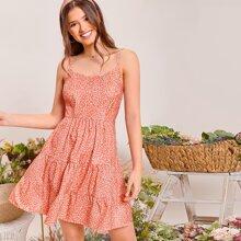Allover Print Cami Dress