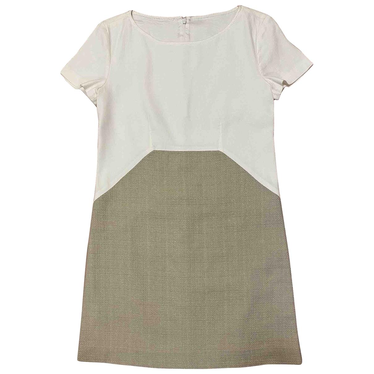 Max & Co \N Beige Cotton dress for Women 2 US