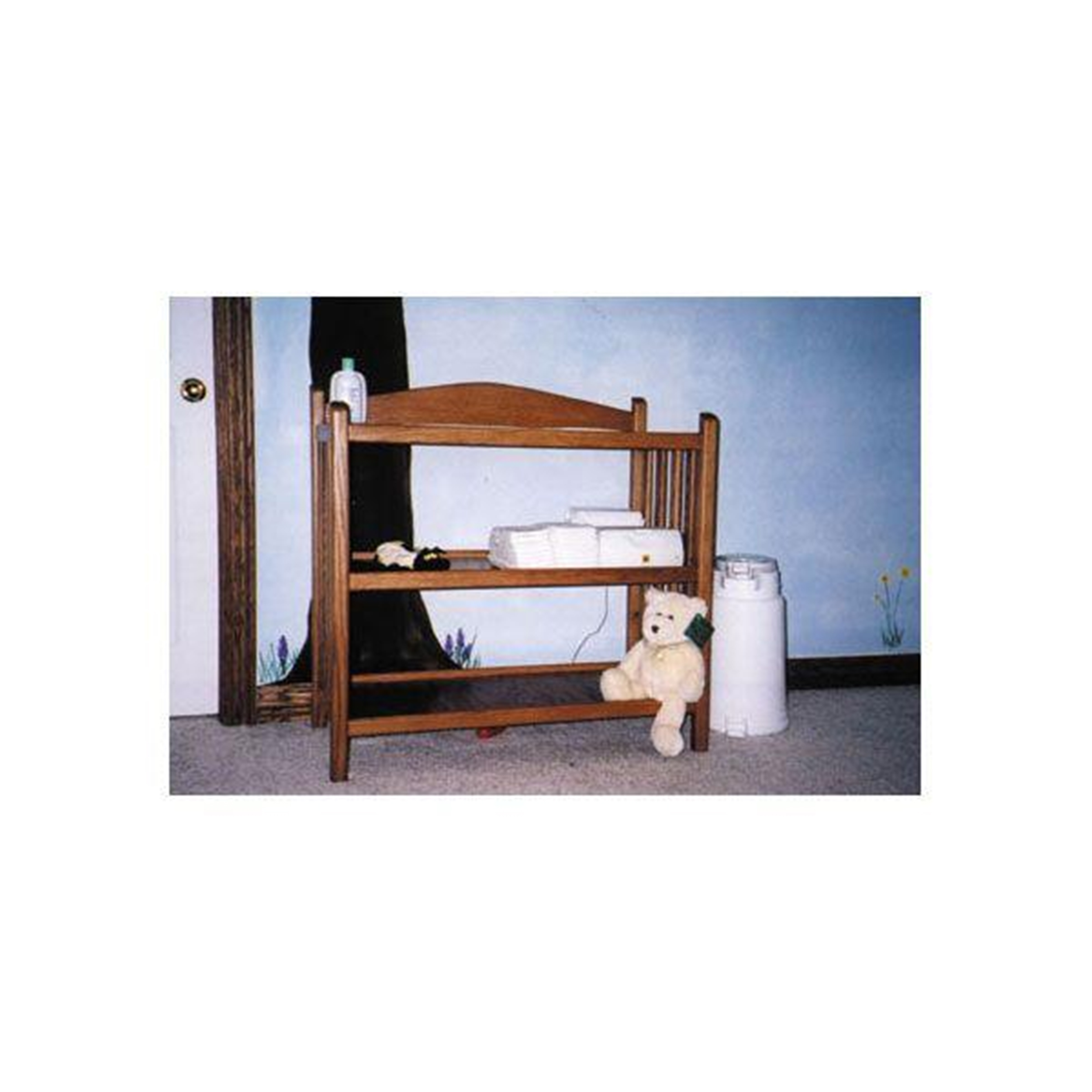 Woodworking Project Paper Plan to Build Changing Table