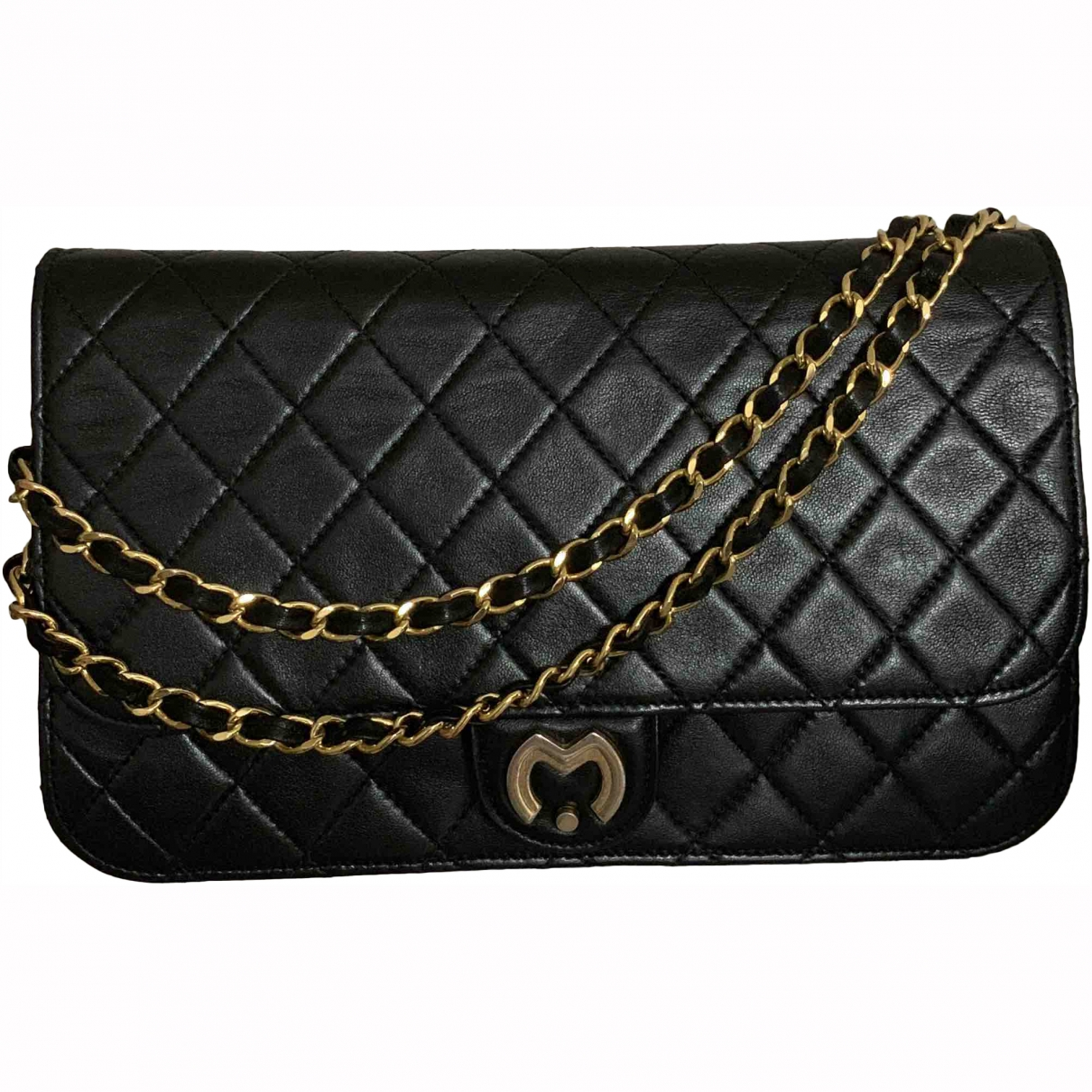 Mila Schön Concept \N Black Leather handbag for Women \N