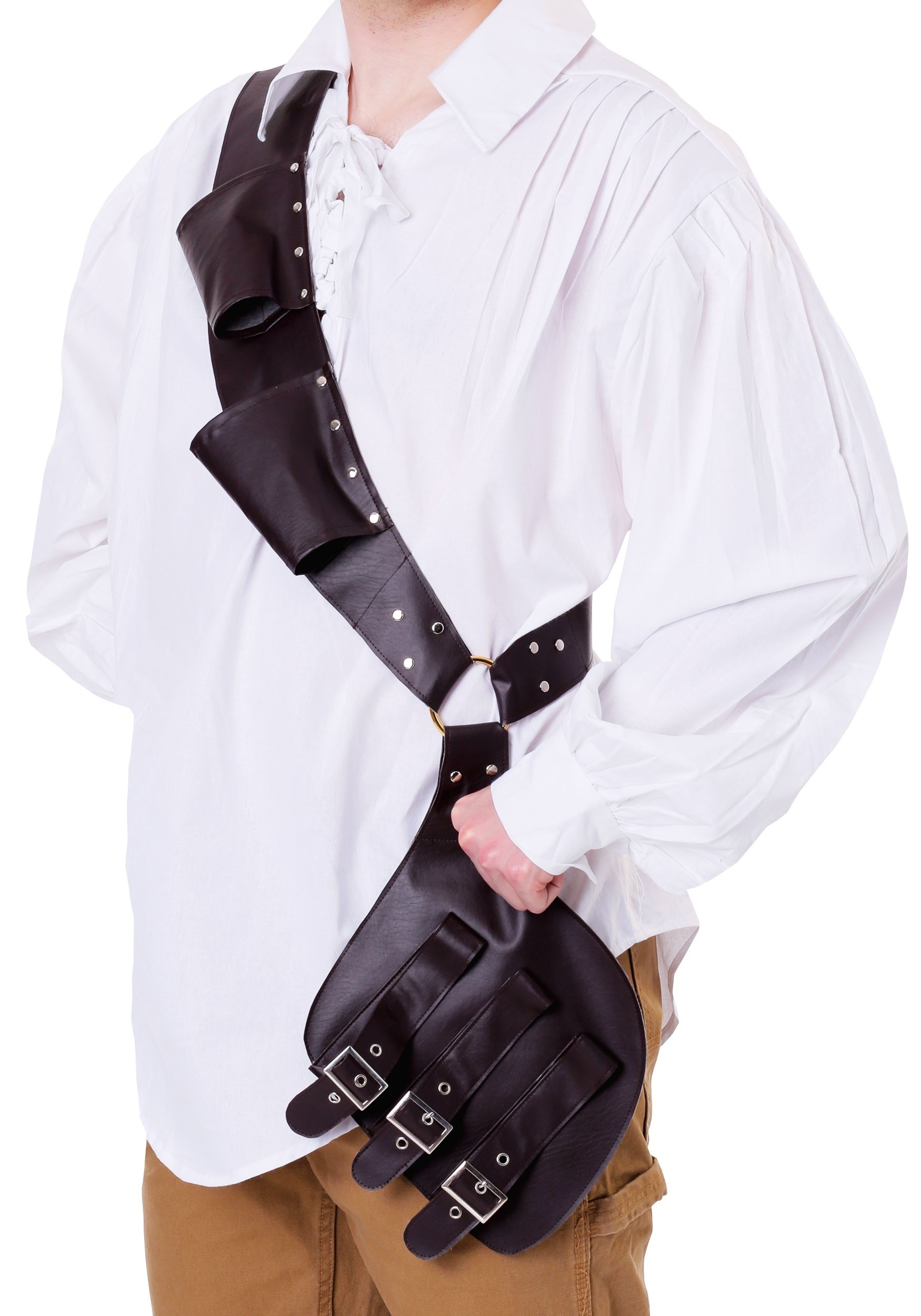 Pirate's Shoulder Holster for an Adult
