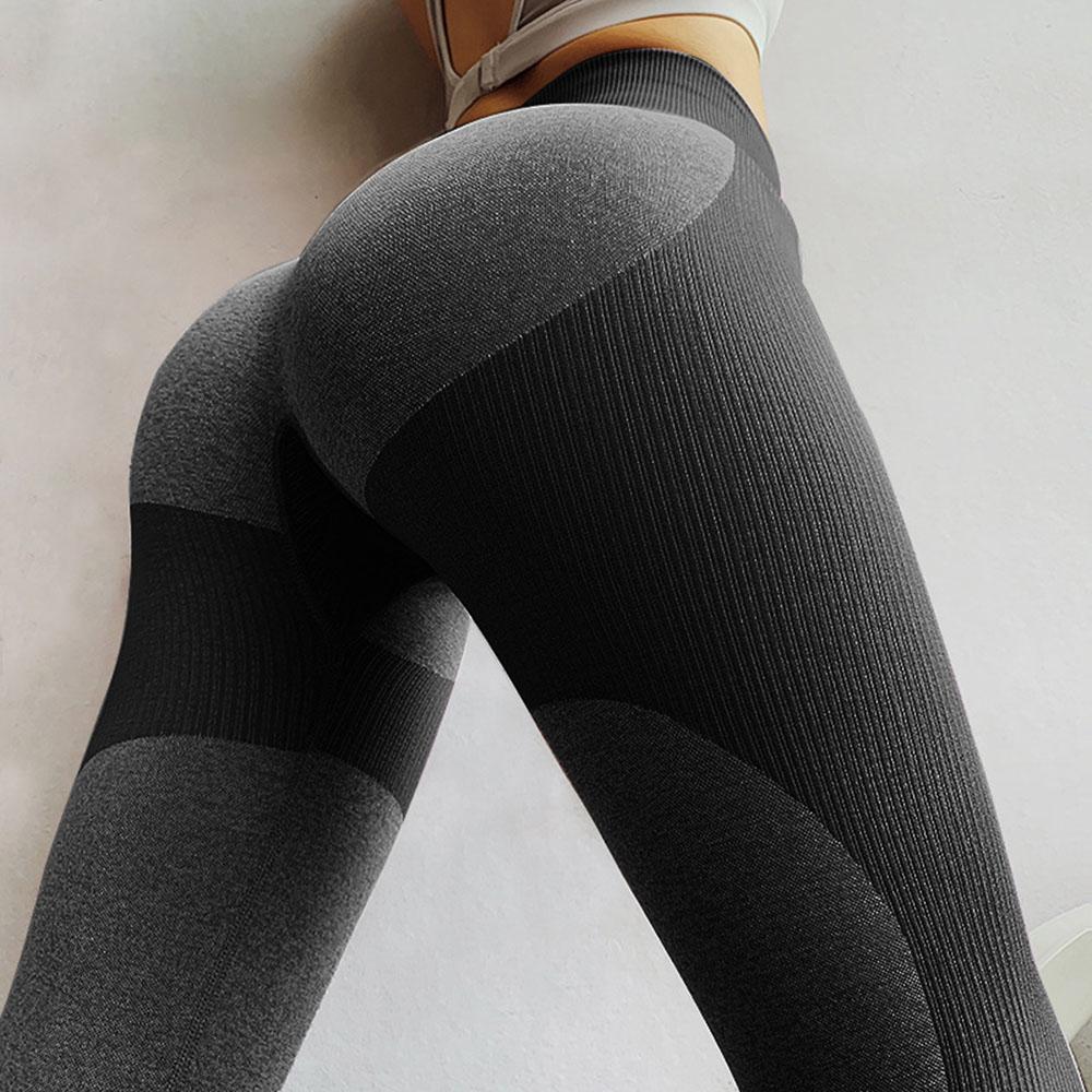 Women's Yoga Pant Running Workout Leggings Tummy Control High Waist Yoga Pant