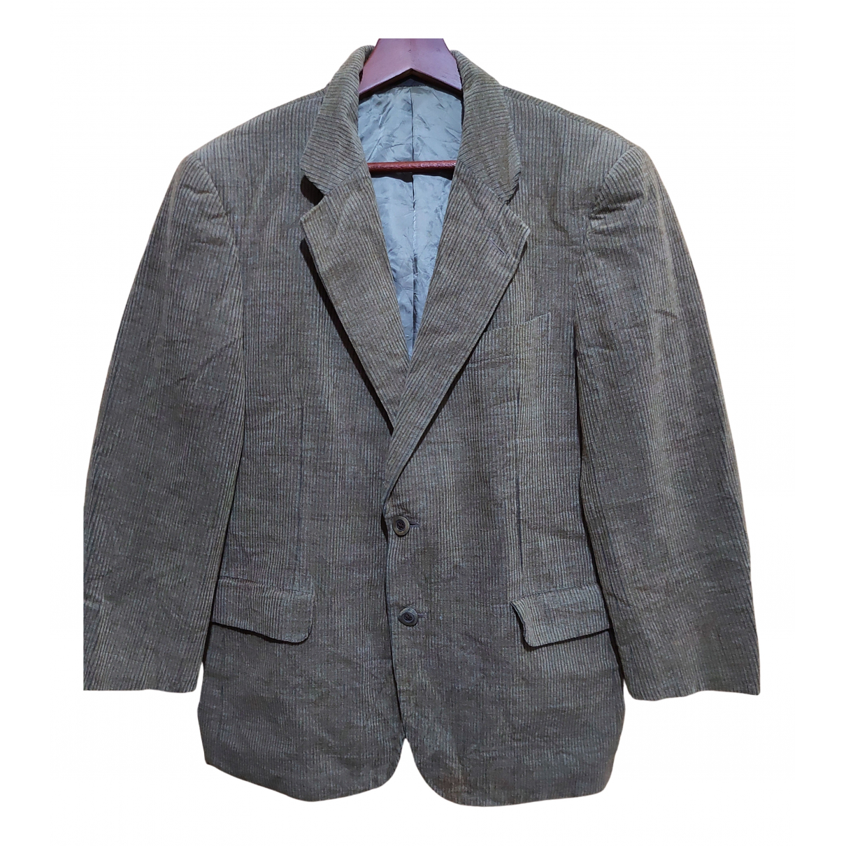 Burberry N Brown Wool Suits for Men L International