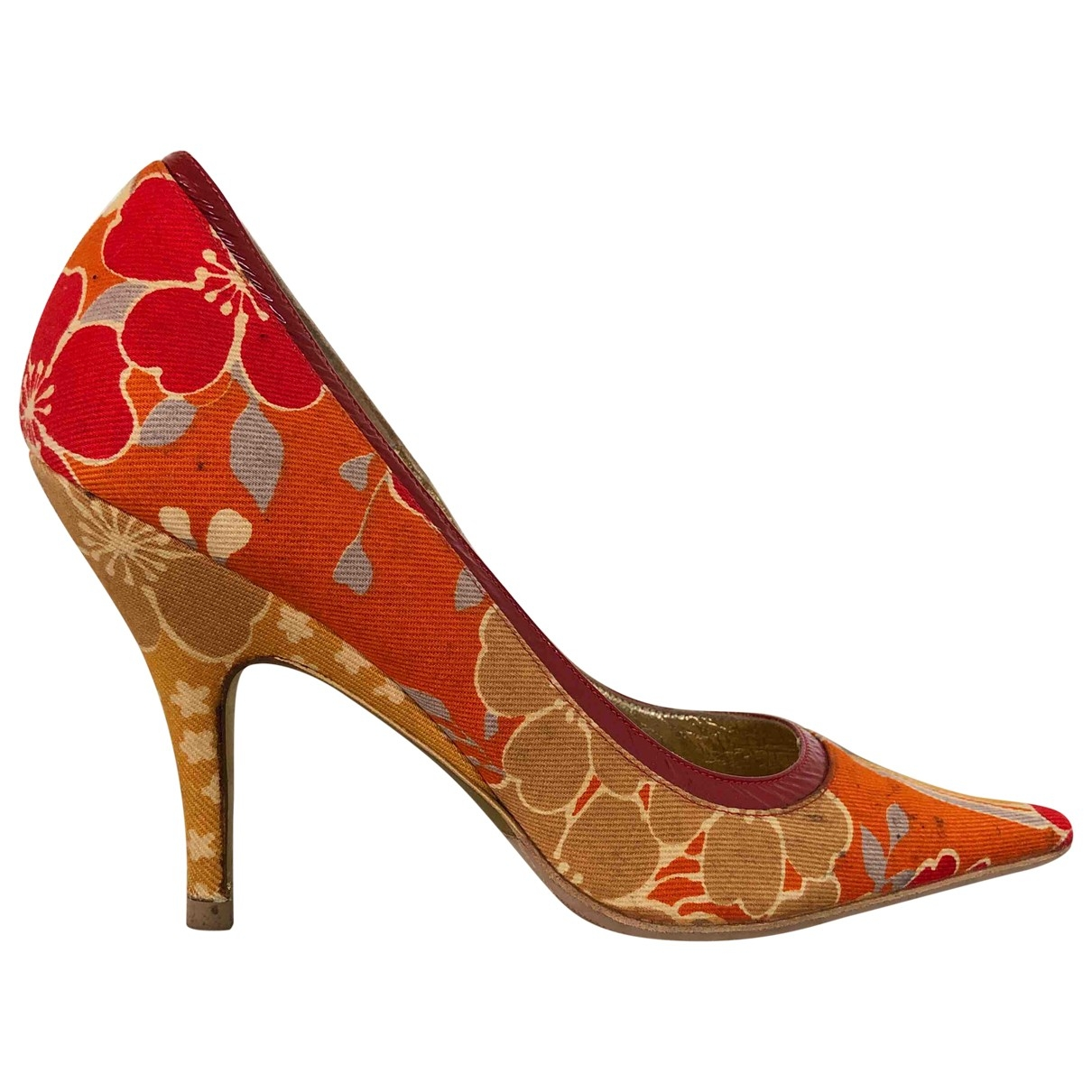 Dolce & Gabbana \N Pumps in  Orange Kunststoff