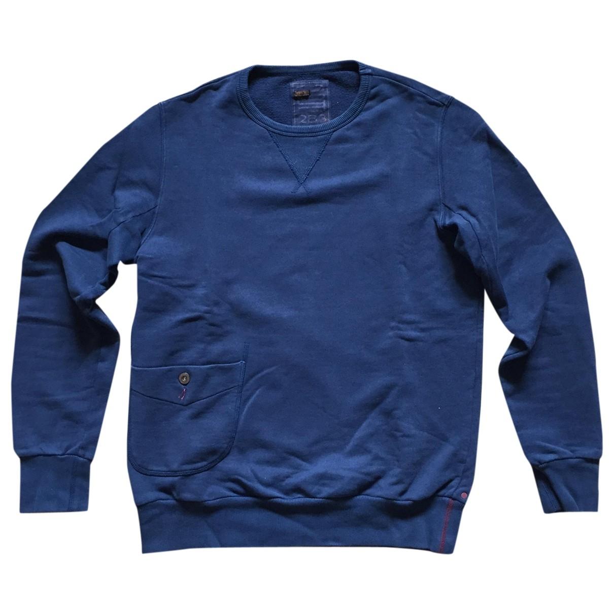 Slowear \N Pullover.Westen.Sweatshirts  in  Blau Baumwolle