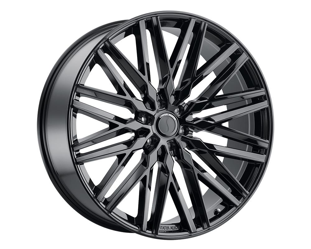 Status Adamas Wheel 20x9  6x139.7 15mm Gloss Black