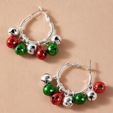 Christmas Bell Drop Earrings