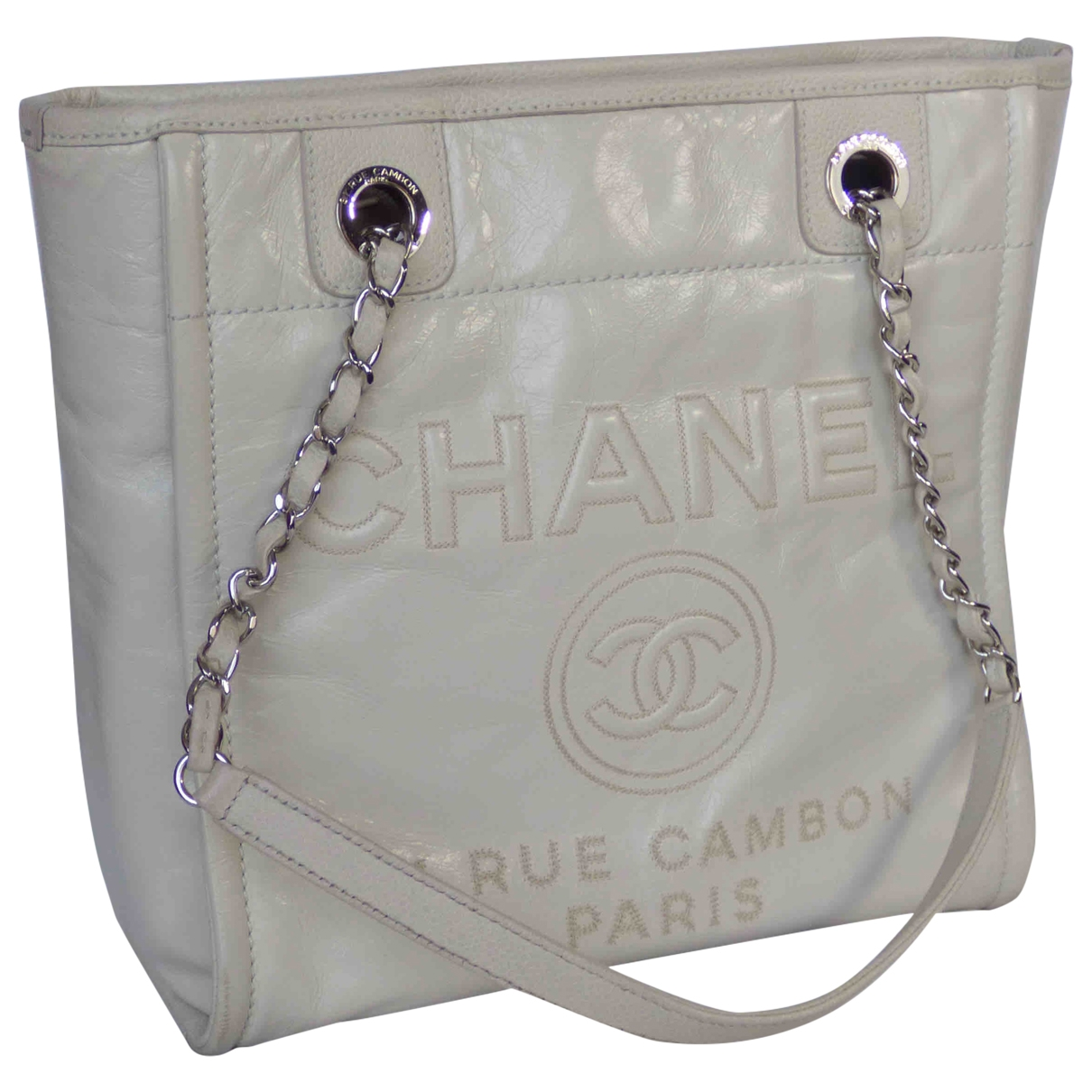 Bolso  Deauville de Cuero Chanel
