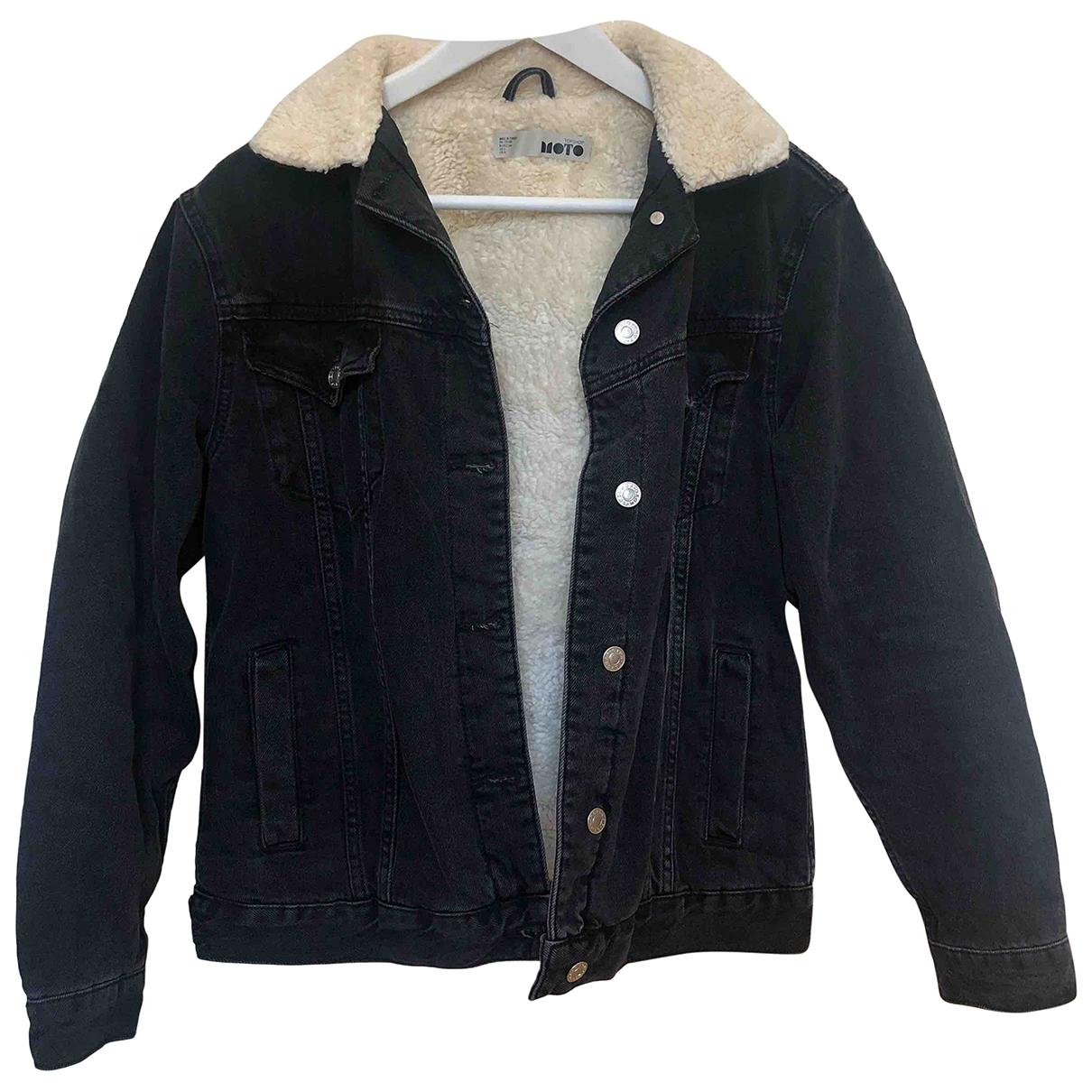 tophop \N Black Denim - Jeans jacket for Women 2 US