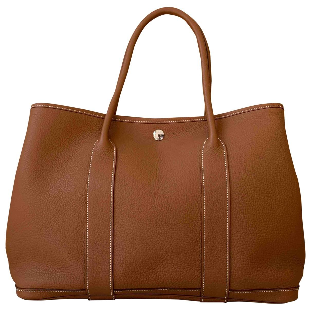 Hermès Garden Party Leather handbag for Women \N