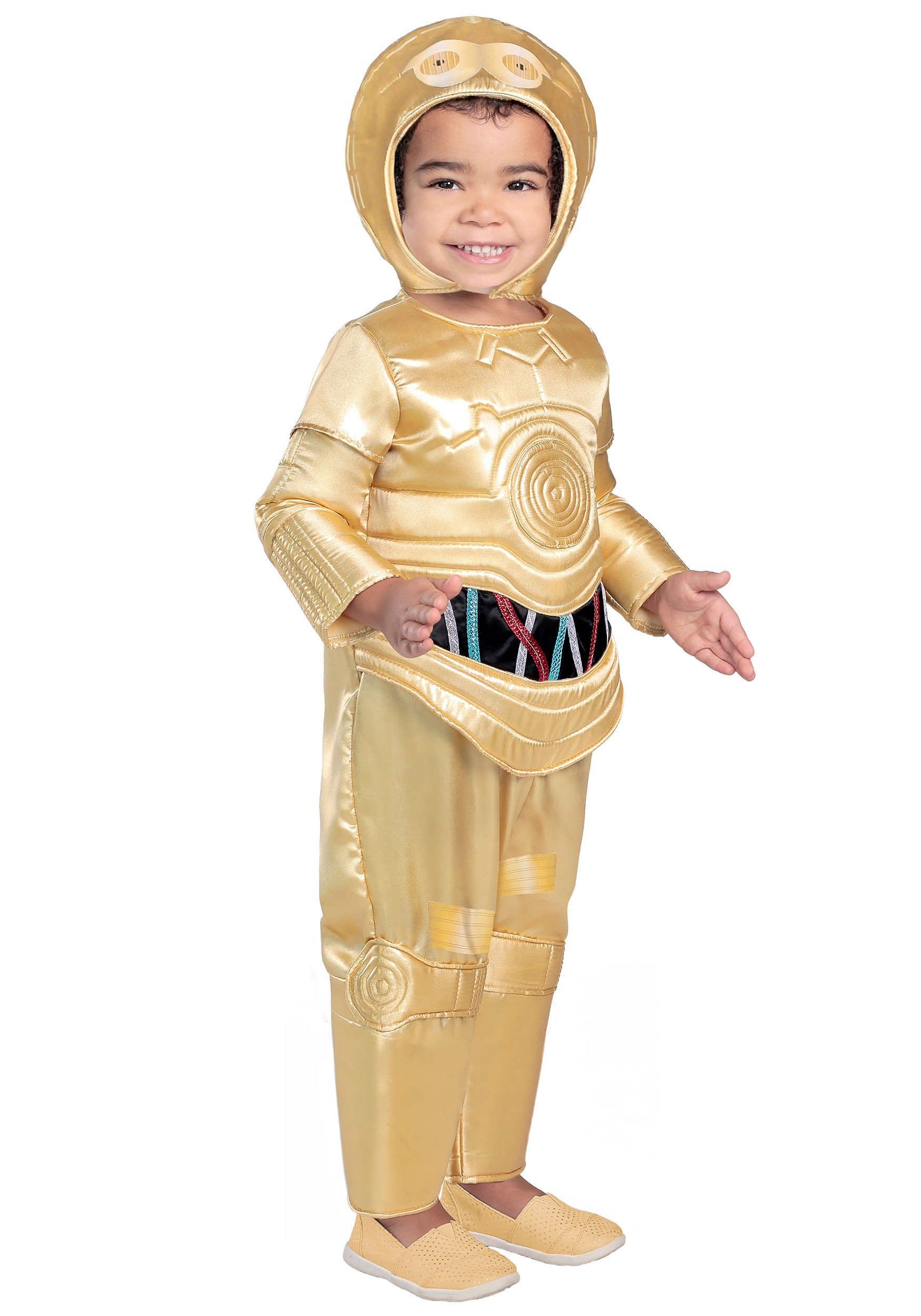 Deluxe C-3PO Costume for Toddlers