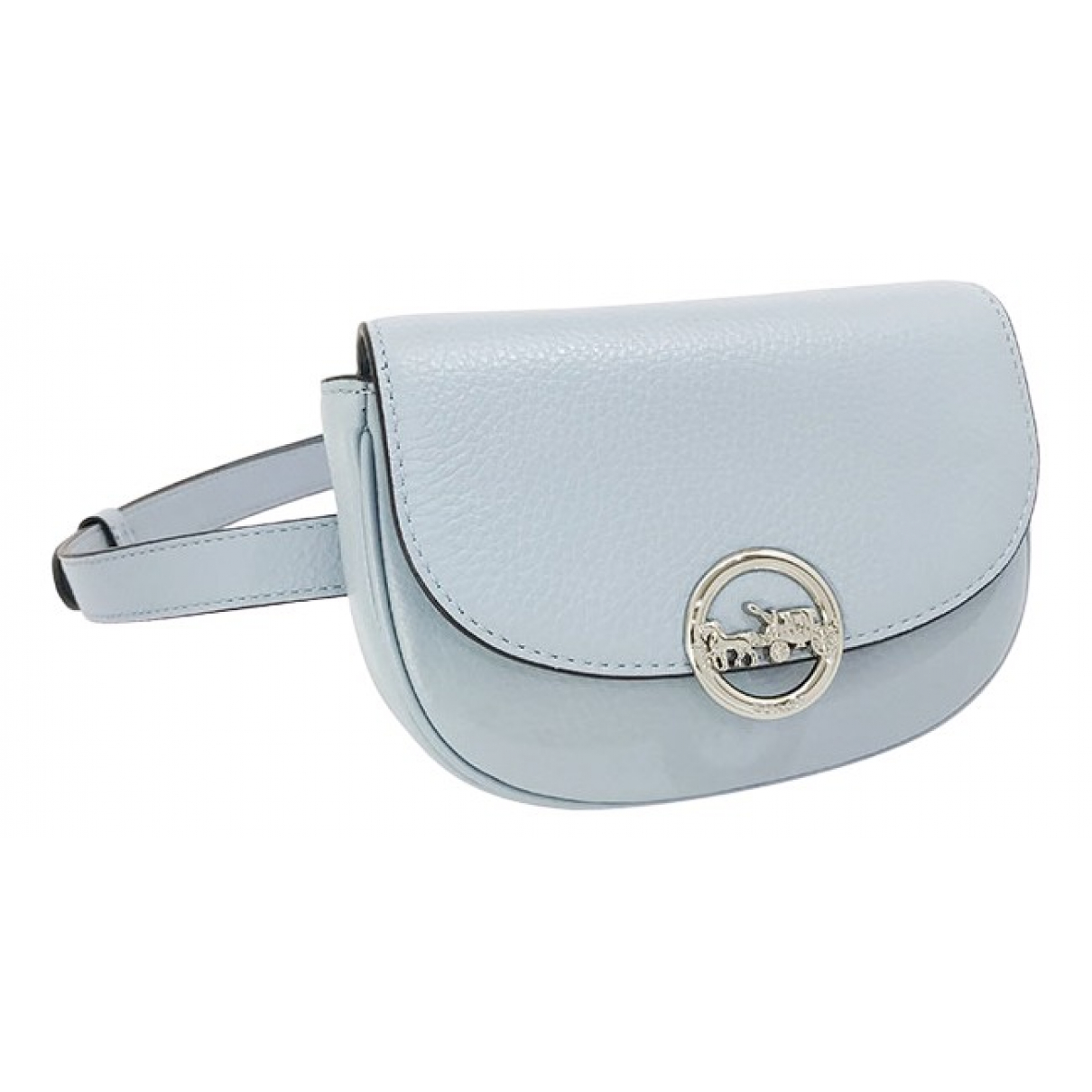 Coach \N Blue Leather Clutch bag for Women \N