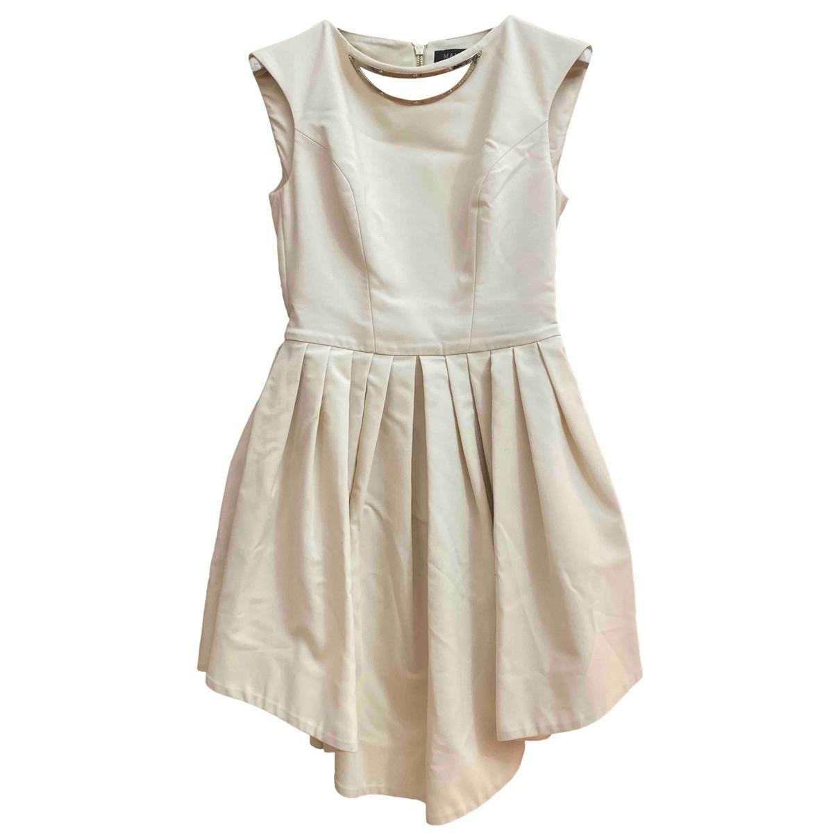 Mangano \N Kleid in  Rosa Baumwolle