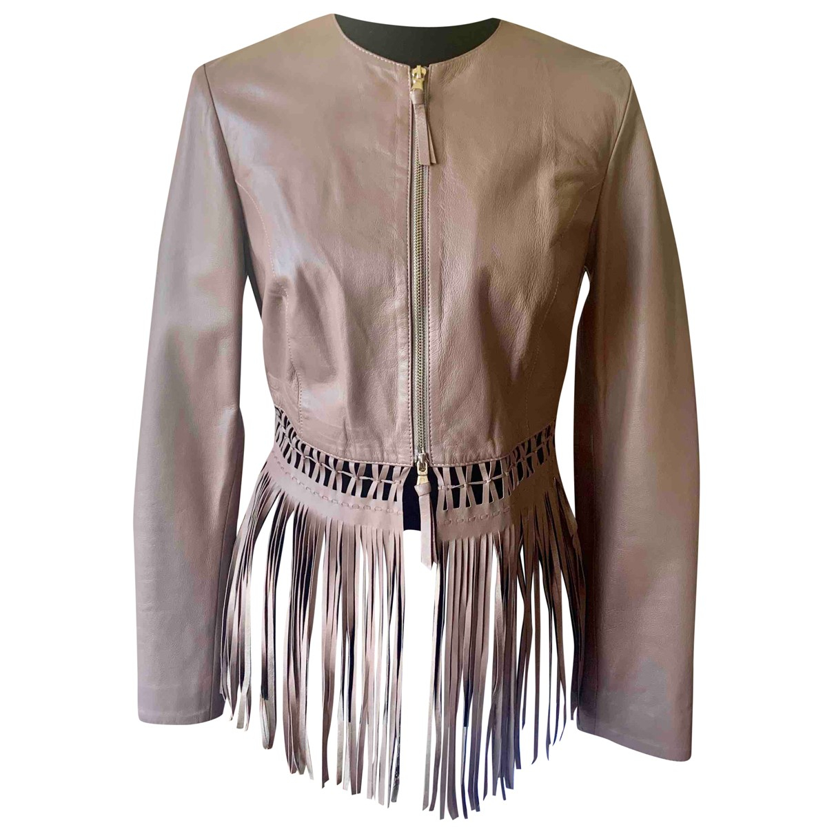 Blumarine - Veste   pour femme en cuir