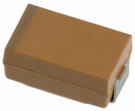 AVX Tantalum Capacitor 10μF 35V dc Tantalum Solid ±10% Tolerance , TAJ (500)