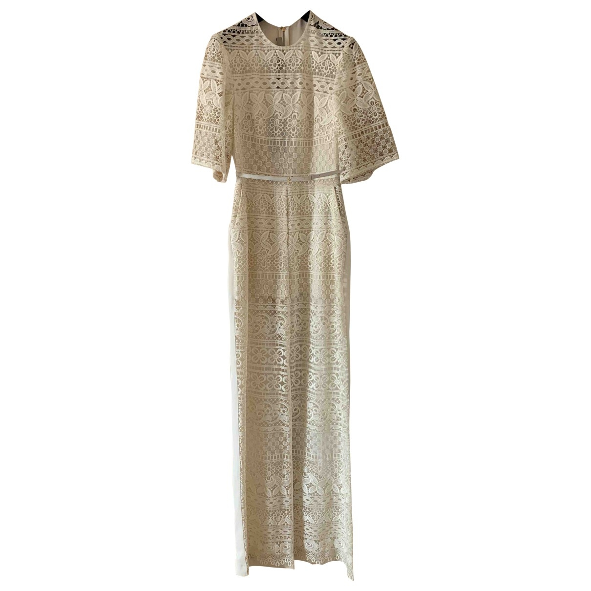 Elie Saab \N Beige jumpsuit for Women 40 FR