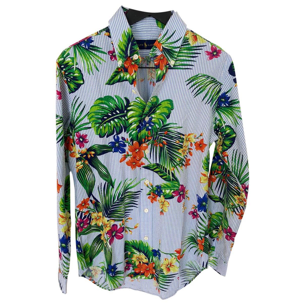 Ralph Lauren Double Rl - Chemises   pour homme en coton - multicolore