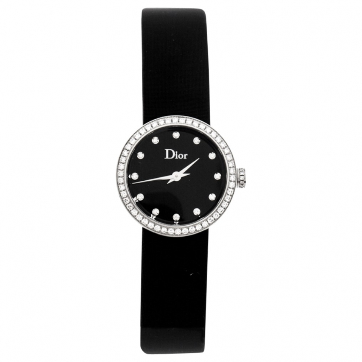 Dior \N Uhr in  Schwarz Stahl